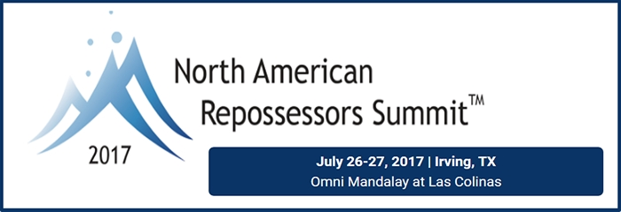 2017 NORTH AMERICAN REPOSSESSORS SUMMIT