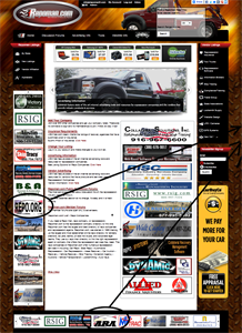 Picture of Small Banner Ad